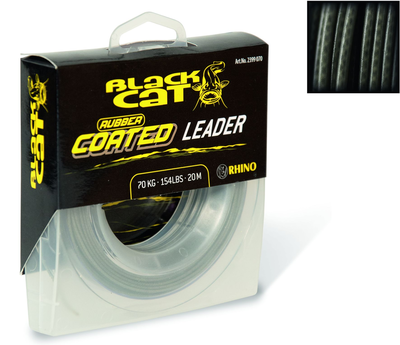 black cat rubbercoated leader