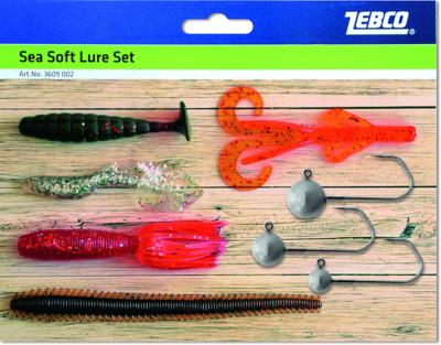 zebco sea soft lure set