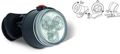 zebco led-lamp met clip