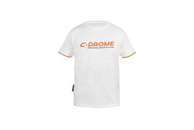 C-Drome. White T-Shirt