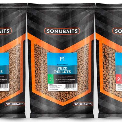 Sonubaits. F1 Pellets. 900 gram