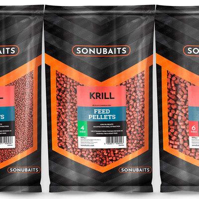 Sonubaits. Krill Pellets. 900 gram