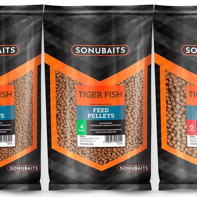 Sonubaits. Tiger Fish Feed Pellets. 900 gram
