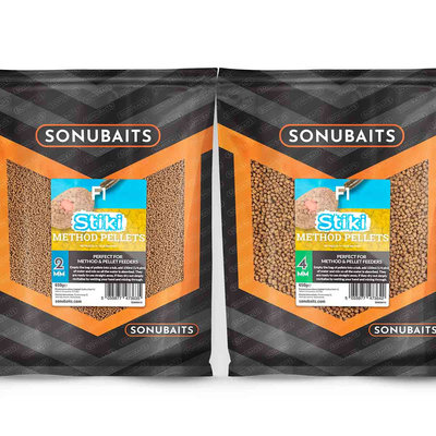 Sonubaits. F1 Stiki Method Pellets. 650 gram
