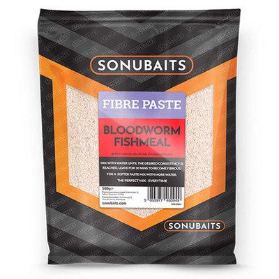 Sonubaits. Fibre Paste Bloodworm Fishmeal. 500 gram