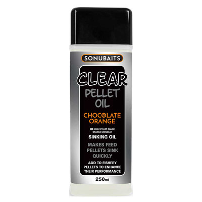 Sonubaits. Clear Pellet Oil Chocolate Orange
