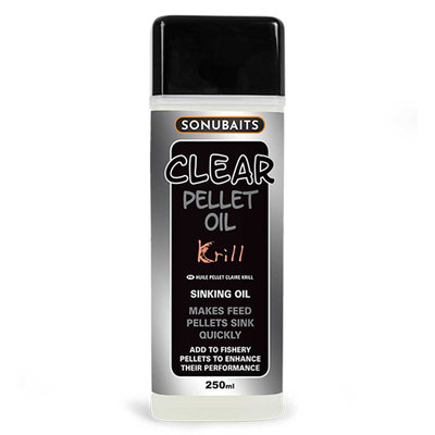 Sonubaits. Clear Pellet Oil Krill.