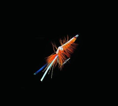 Jenzi. Add-Ons. Shrimp-Fly Orange/Silver.