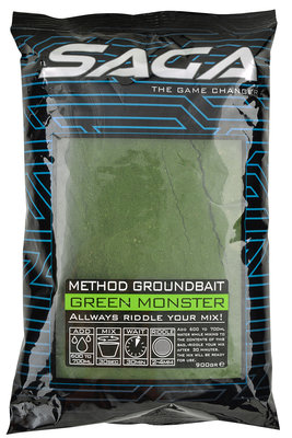 Cresta Saga Method Groundbait Green Monster
