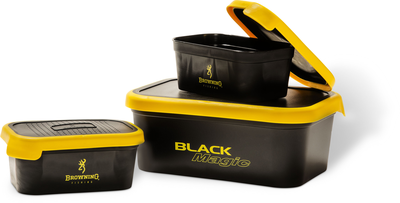 Browning Black Magic aasbox. Groundbait 3L