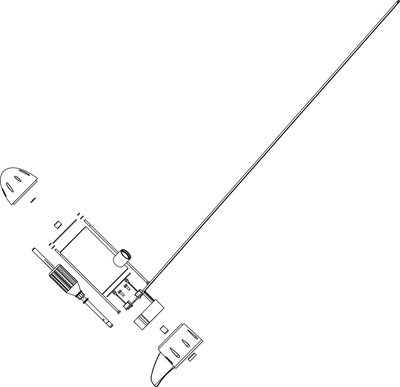 Rhino BLX65 BMR Accessoiries. Elektromotorunit, compleet, zonder motorschacht
