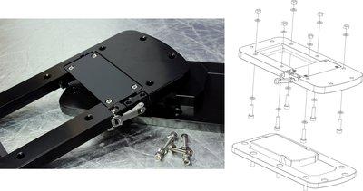 Rhino BLX(BMR) Accessoires. Motorsteun.