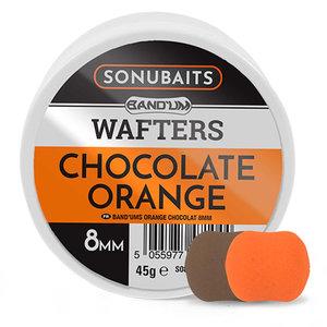 Sonubaits. Chocolate Orange Bandu'm Wafters 8mm. hengelsport heijnens
